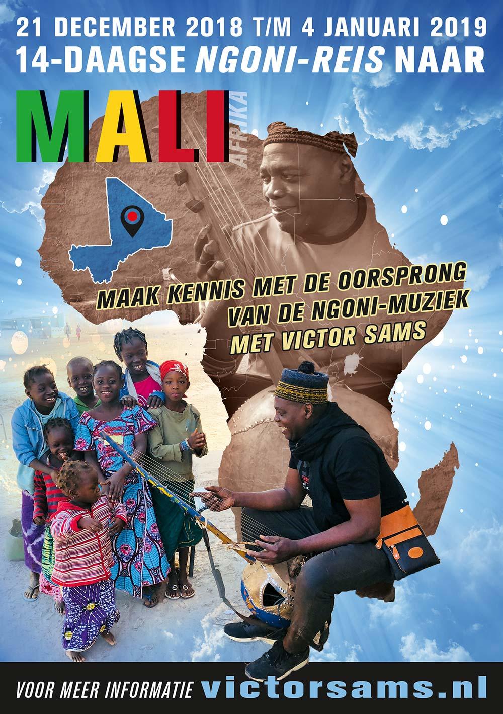 ngoni amsterdam victor sams ngoni reis mali afrika 14 dagen 2018 2019 - 14 daagse Ngoni-Reis naar Mali, Afrika