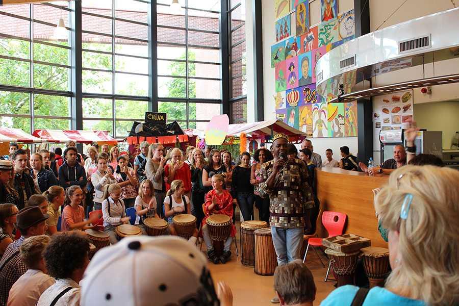 djembe workshops scholen djembe workshop school amsterdam djembeles victor sams amsterdam rotterdam denhaag arnhem - Djembé workshops voor scholen